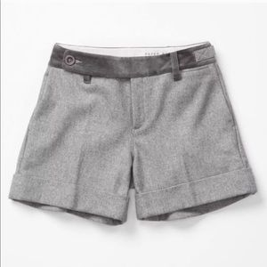 NWT Anthropologie Paper Boy Dorian Wool Shorts